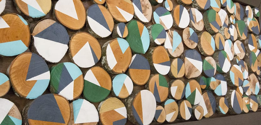 Ideas diy con madera para decorar - Troncos de madera para decorar ...