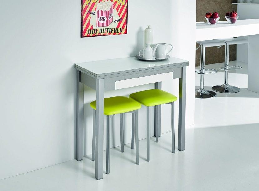 3 mesas que no pueden faltar en tu cocina On mesas para cocinas estrechas
