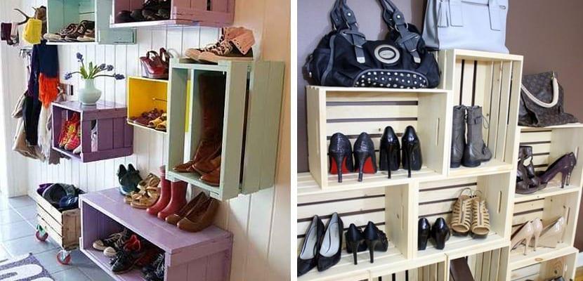 Organizar el calzado