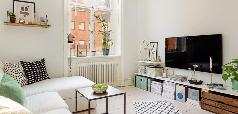 Piso de 50 metros cuadrados bien aprovechado for Decoracion de casas de 40 metros cuadrados