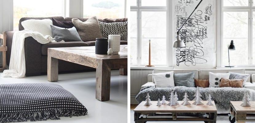 Estilo escandinavo con madera
