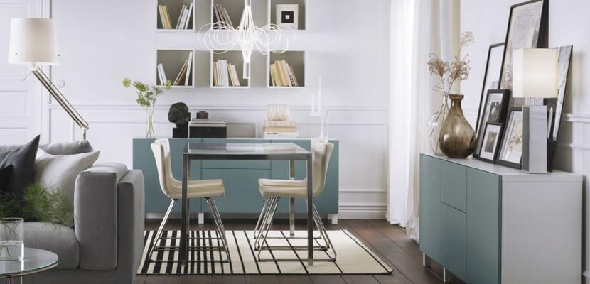 Salones de Ikea con comedor
