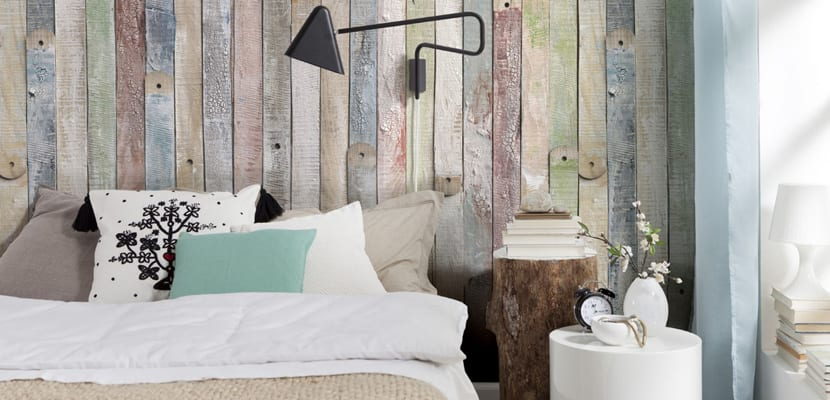 Dormitorio con tonos neutros