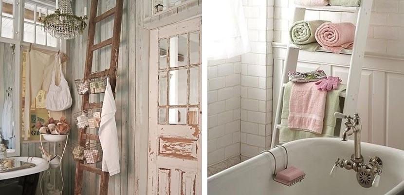 Cómo decorar un baño en estilo shabby chic