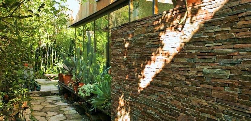Casa abierta al jardín