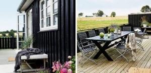Casa en estilo escandinavo