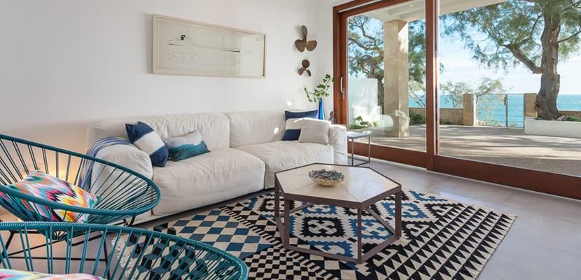 Casa decorada en estilo mediterr neo - Salon mediterraneo ...