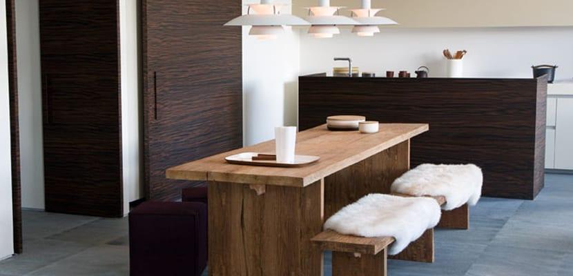 Comedores en estilo moderno para el hogar for Comedor escandinavo