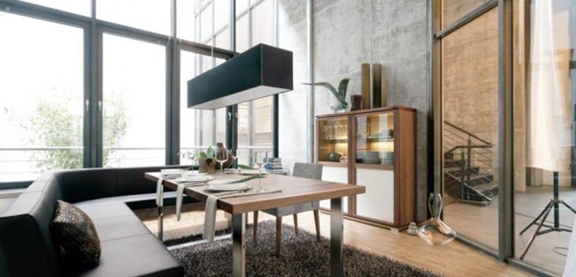 Comedores en estilo moderno para el hogar for Comedores para el hogar