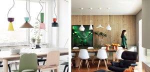 Conjuntos de lámparas para el comedor