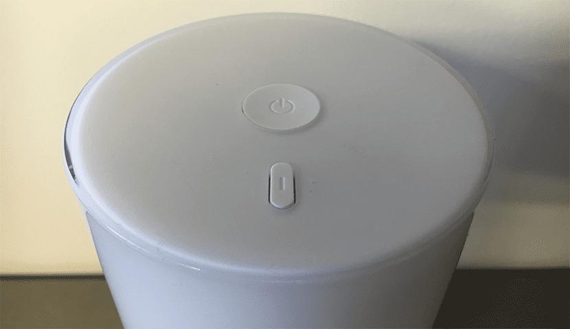 controles lampara inteligente LED