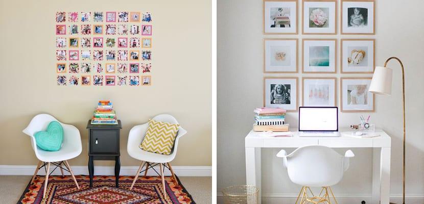 decorar las paredes con cuadros inspiracin instagram - Decorar Paredes Con Cuadros