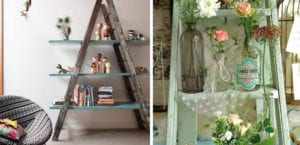 Decorar con escaleras