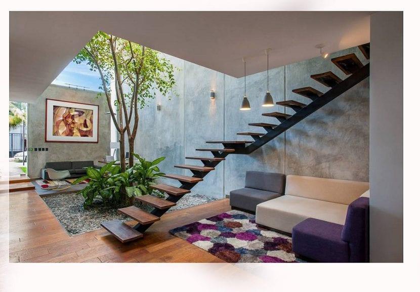 Consejos para crear un espacio natural en tu casa Casas modernas interiores decoracion