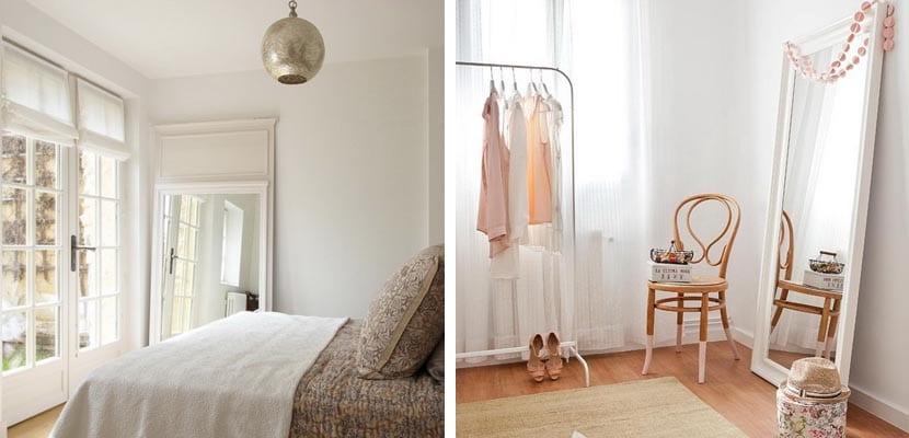 Decorar el dormitorio con espejos ideas originales for Espejo dormitorio