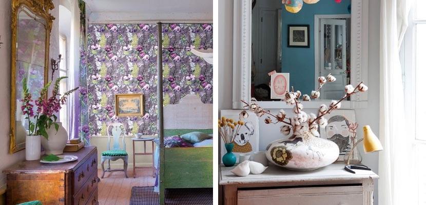 Decorar el dormitorio con espejos ideas originales - Comodas originales ...
