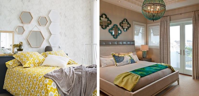 Decorar el dormitorio con espejos ideas originales for Espejos para habitaciones