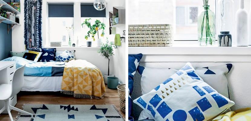 Habitación en estilo escandinavo