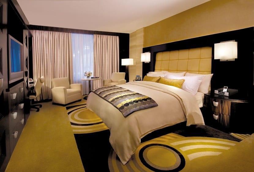 hotel decoracion amarillo