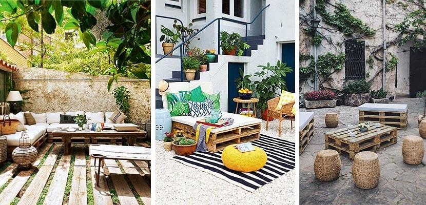 Construye tus muebles de jard n con palets for Muebles de jardin milanuncios