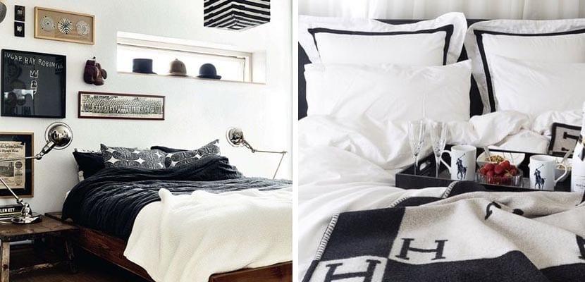 TExtiles de cama tonos blancos