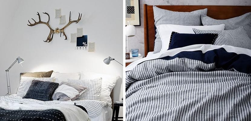 Textiles de cama para una habitaci n masculina - Dormitorio masculino ...