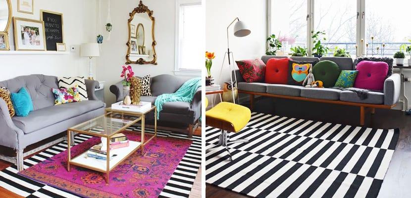 La alfombra stockholm de ikea en decoraci n for Alfombra colores