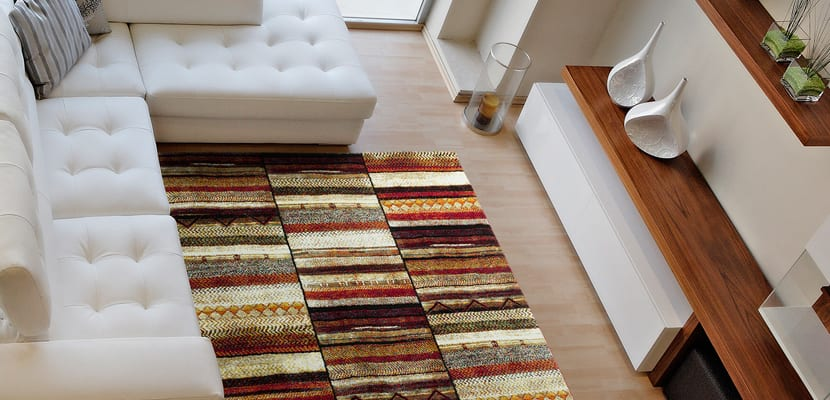 Decorar con alfombras de tejidos naturales - Alfombra sisal ...