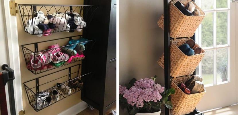 Ideas originales para almacenar zapatos