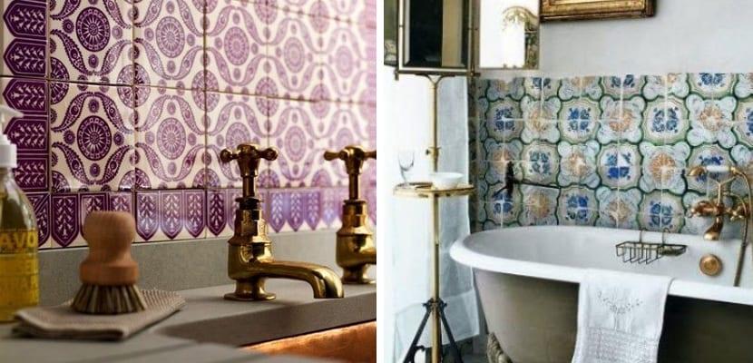 Azulejos en estilo árabe