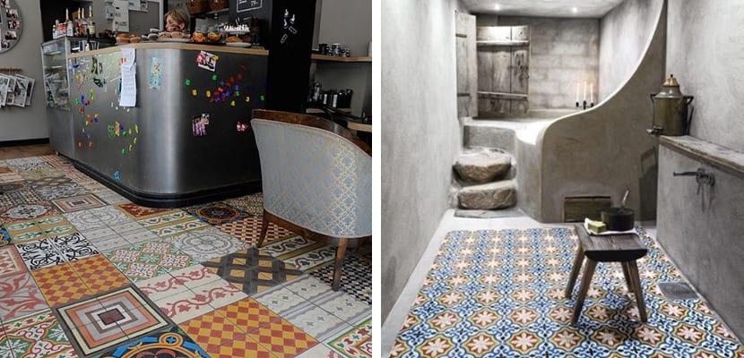 Azulejos en estilo rabe para el hogar for Cocinas profesionales para el hogar