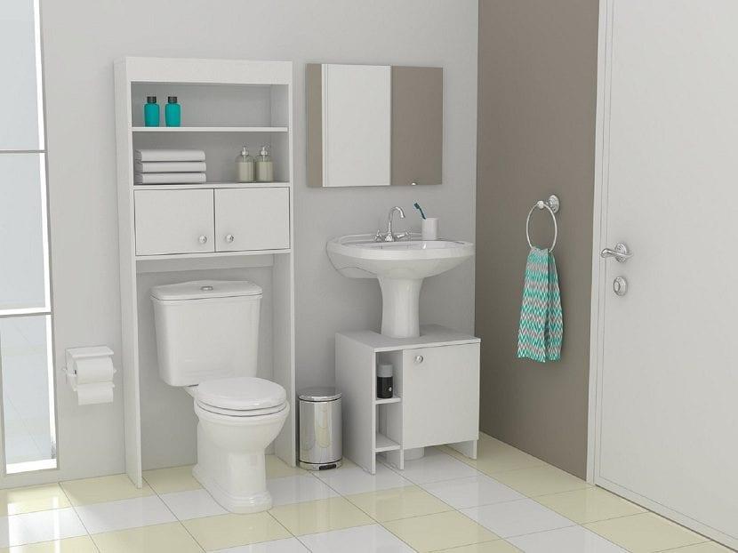 Ideas para ahorrar espacio en el cuarto de ba o for En el cuarto de bano