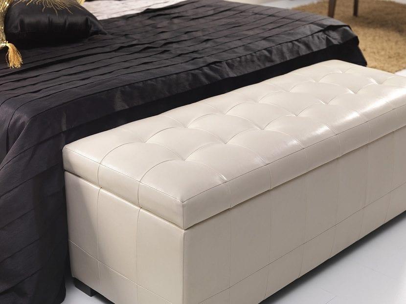 Consejos para decorar los pies de la cama - Baul para dormitorio ...