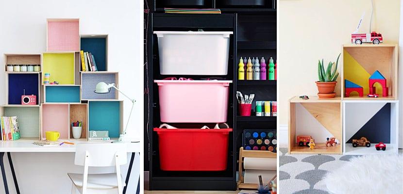 Las cajas un sistema de almacenaje flexible para ni os - Ikea almacenamiento ninos ...