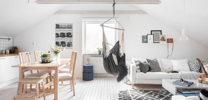Una casa luminosa en estilo escandinavo
