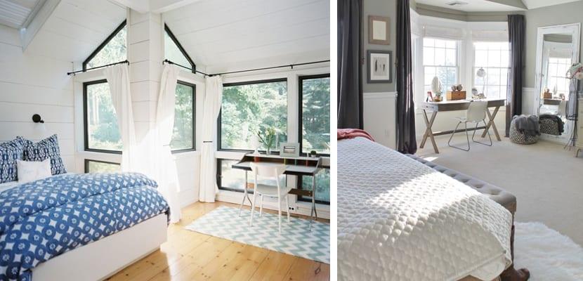 Dormitorios con oficina