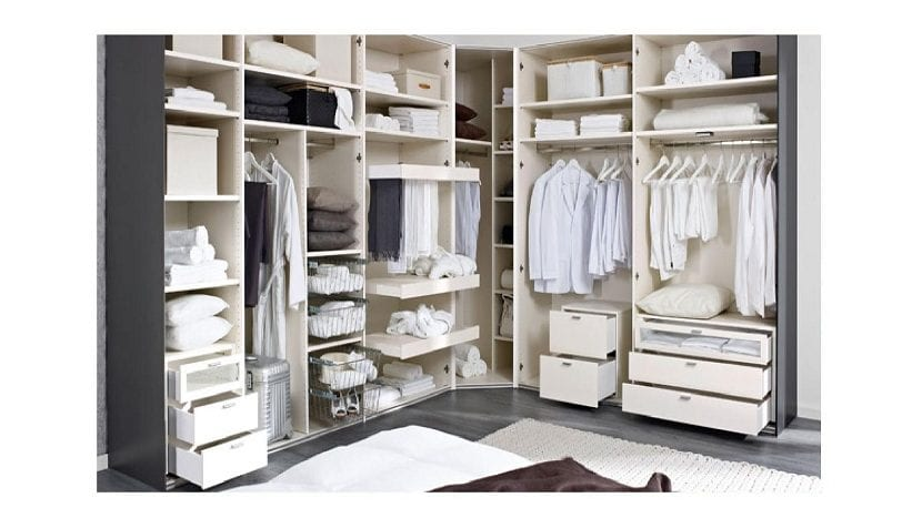 Consejos para aprovechar el espacio del armario - Armario ropa blanca ...