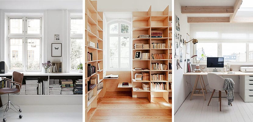 Muebles para aprovechar el espacio bajo la ventana