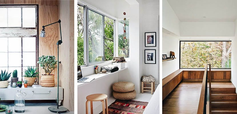 Muebles bajo la ventana
