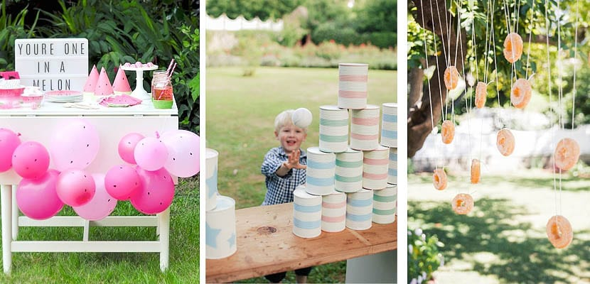 Fiesta infantil jardín