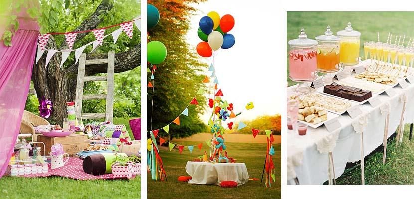 ideas para decorar una fiesta infantil en el jard n