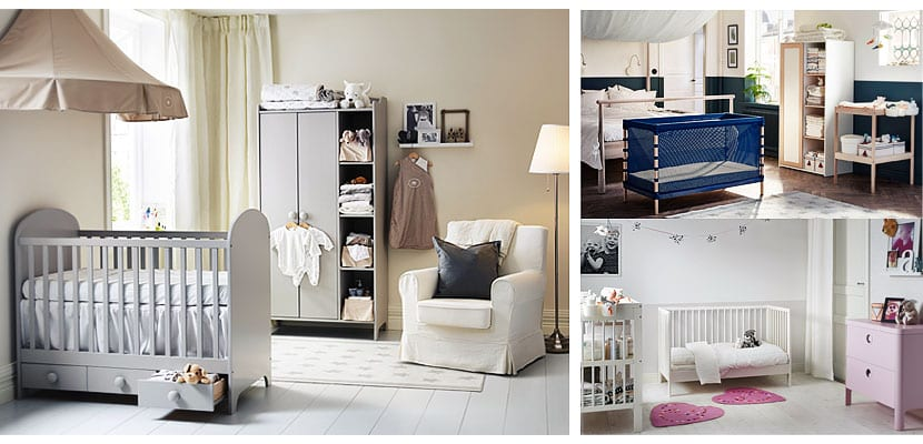 Mobiliario bebé de Ikea