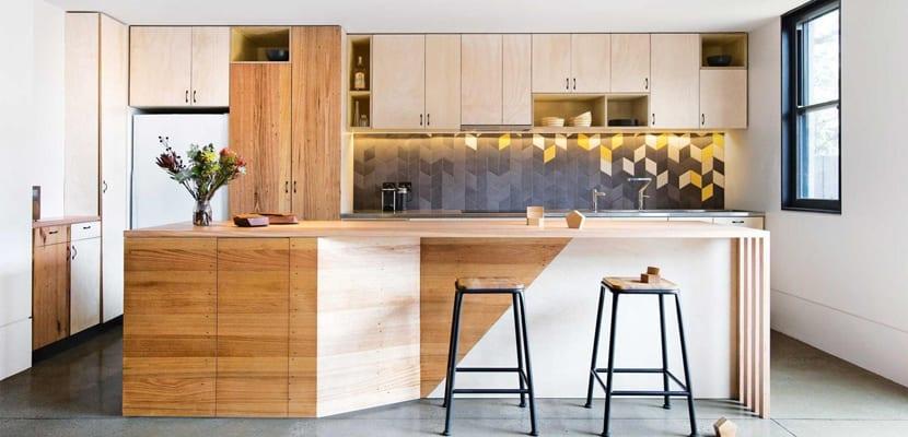 Muebles en la cocina