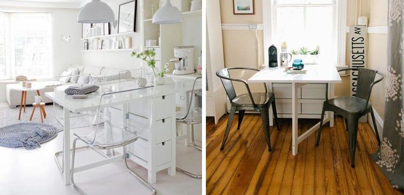 Usos de la mesa gateleg de la firma sueca ikea - Ikea mesa oficina ...