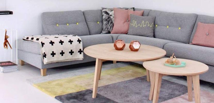Mesas nido en madera