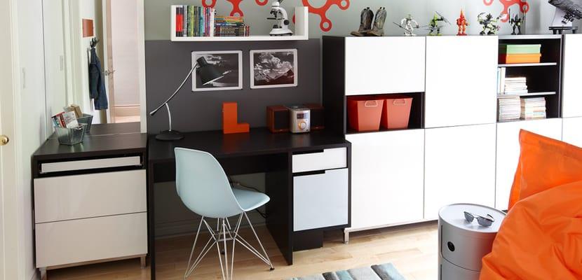 Muebles básicos de almacenaje