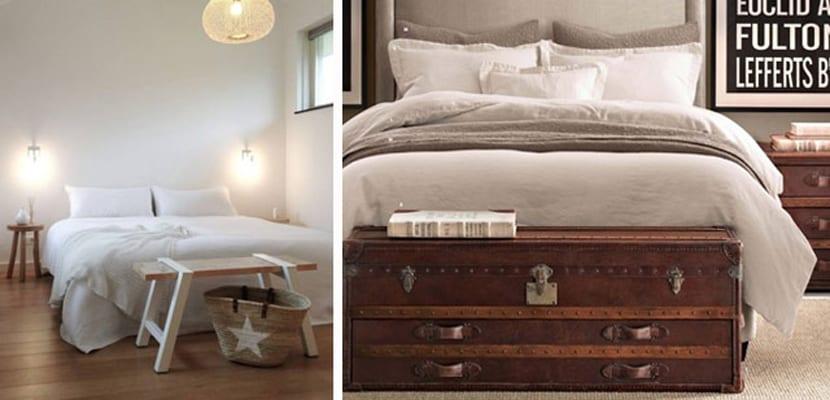 Muebles funcionales a pie de cama