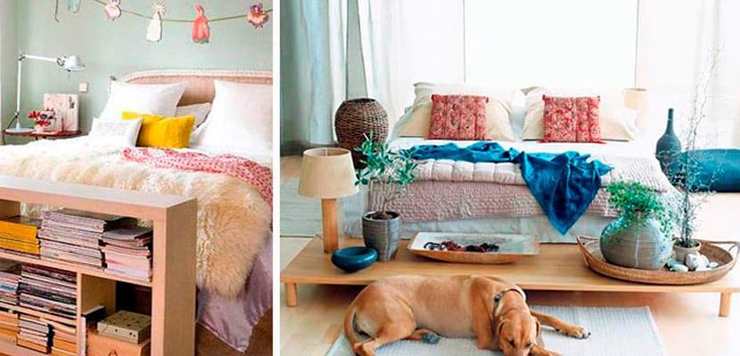 Muebles a pie de cama