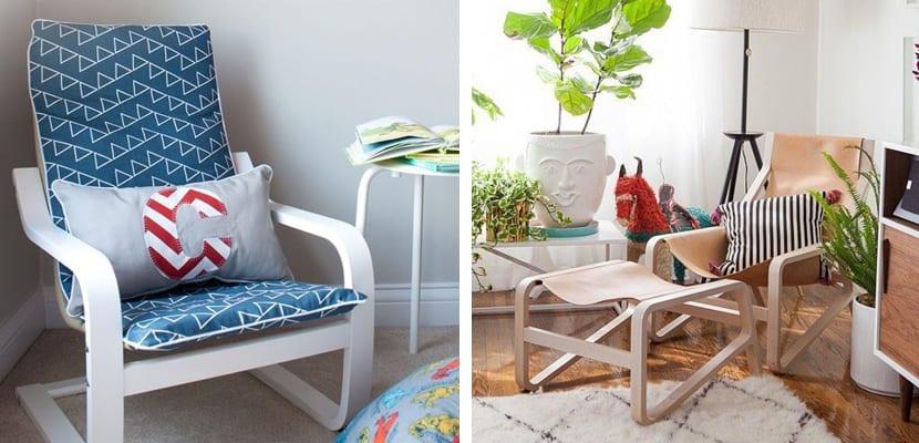 ambiente decorado con silla pello ikea