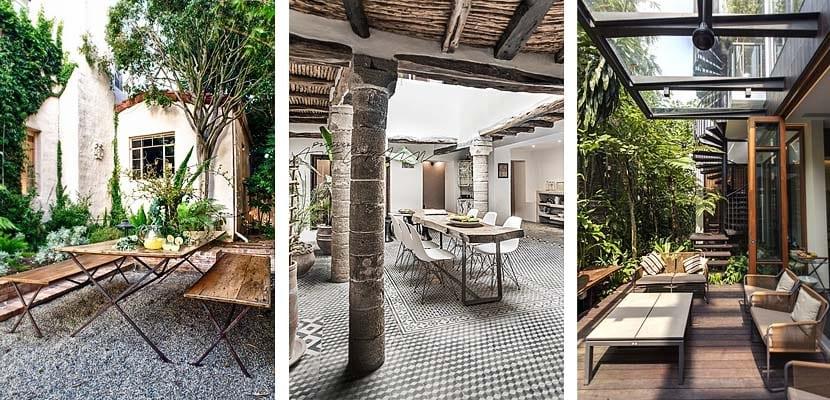 Tipos de suelo para terrazas y patios